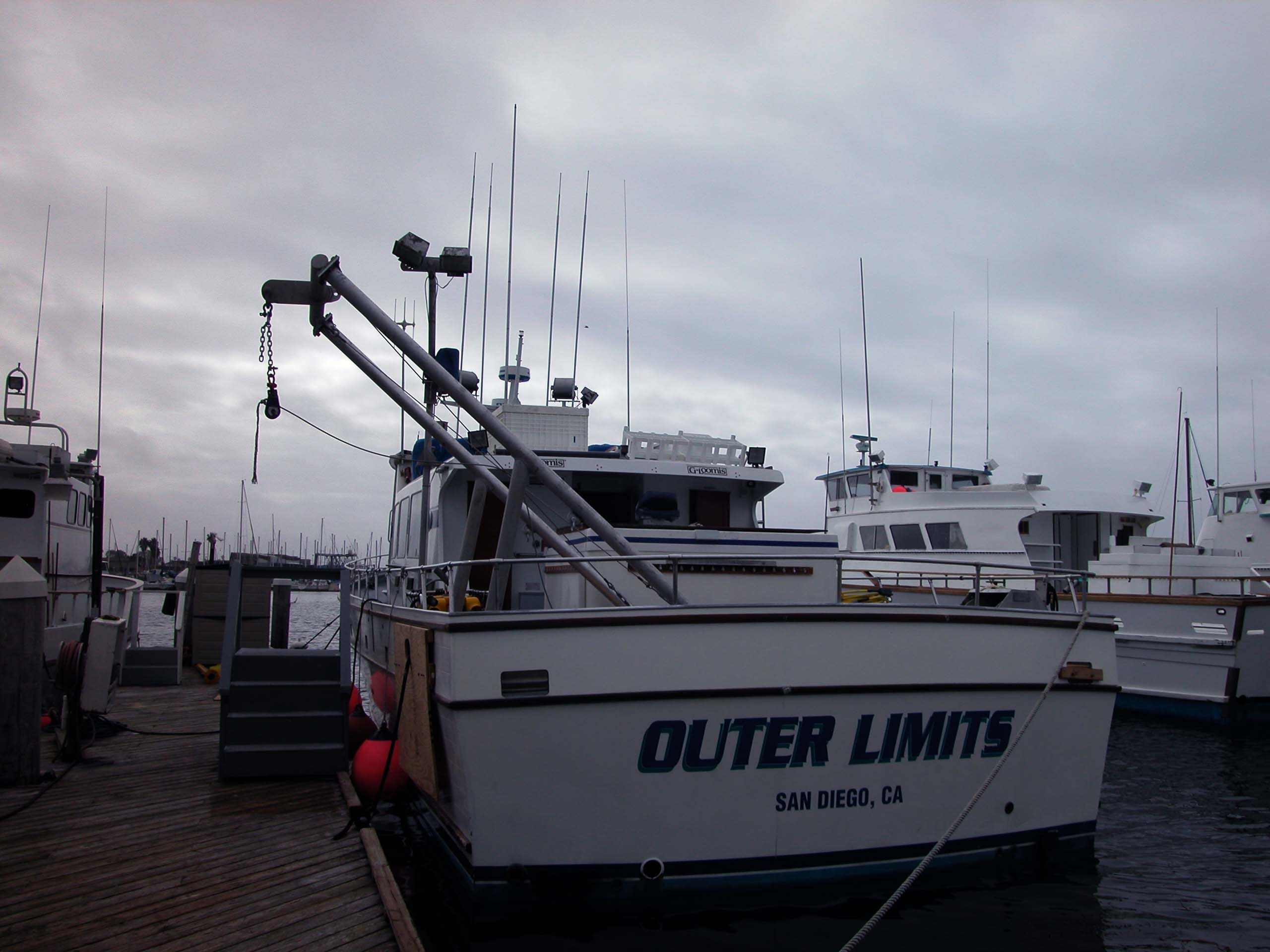Davits the outer limits is equipped with a davit for lifting large objects a stern quarter davit for small objects and water sampling a stern j frame for grab jeuxipadfo Image collections